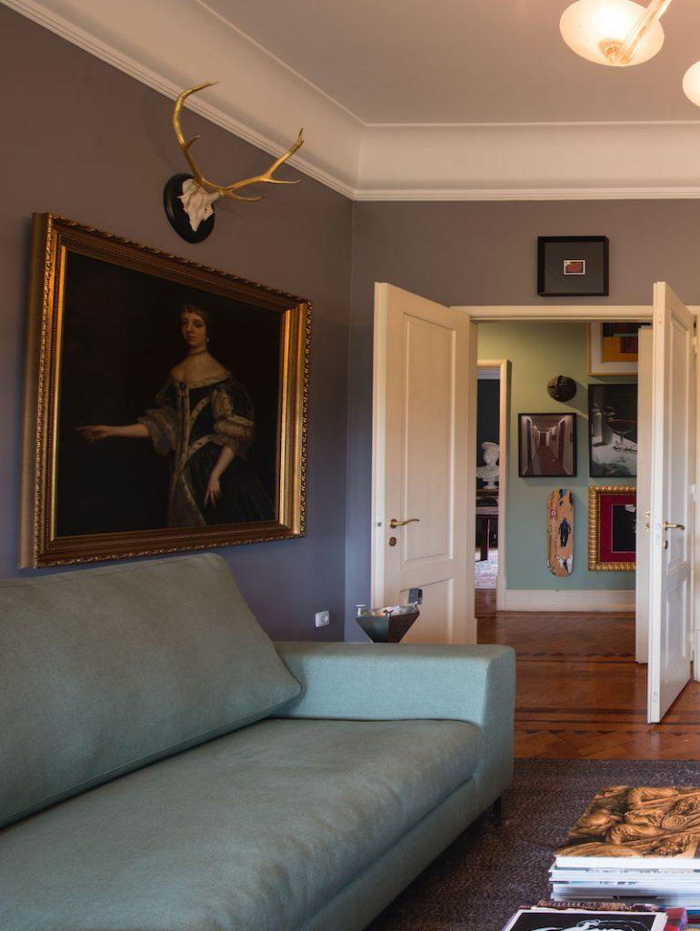 L'Éléphant decoração de interiores sala de estar